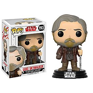 Luke Skywalker Pop! Vinyl Bobble-Head Figure by Funko - Star Wars: The Last Jedi
