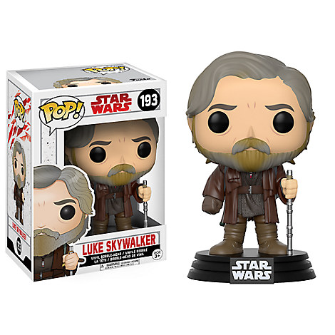 Luke Skywalker Pop! Vinyl Bobble-Head Figure by Funko - Star Wars: The Last Jedi