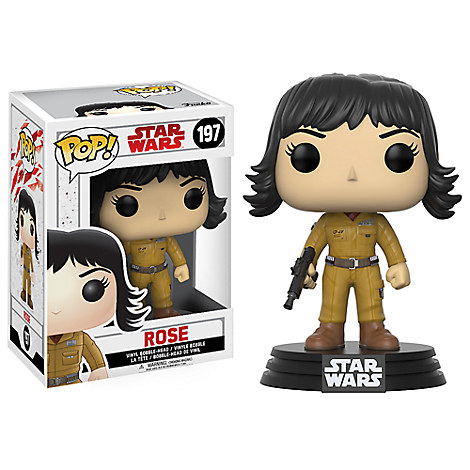 Rose Pop! Vinyl Bobble-Head Figure by Funko - Star Wars: The Last Jedi