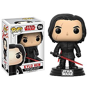 Kylo Ren Pop! Vinyl Bobble-Head Figure by Funko - Star Wars: The Last Jedi