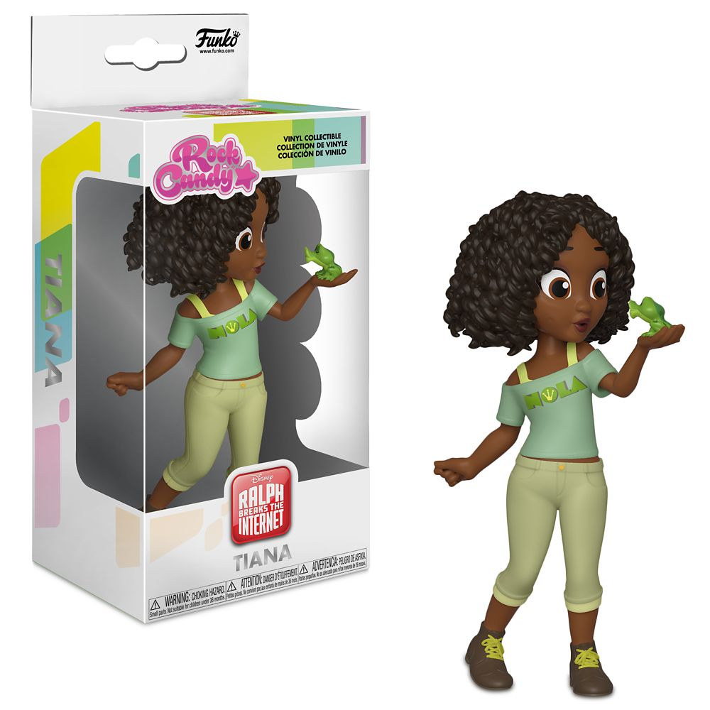 Tiana Rock Candy Vinyl Figure by Funko  Ralph Breaks the Internet Official shopDisney