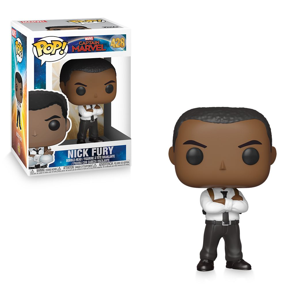 Nick Fury Pop! Vinyl Bobble-Head Figure by Funko