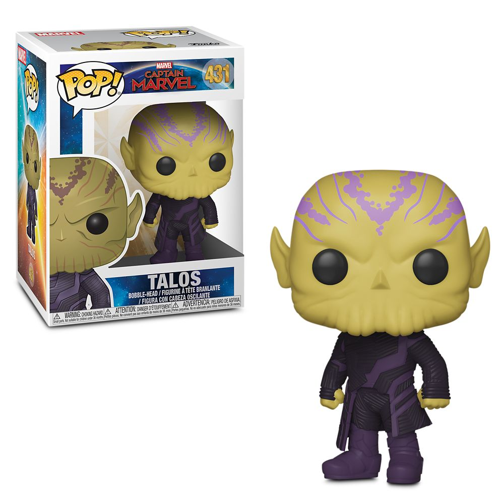 Talos Pop! Vinyl Bobble-Head Figure by Funko – Marvel's Captain Marvel