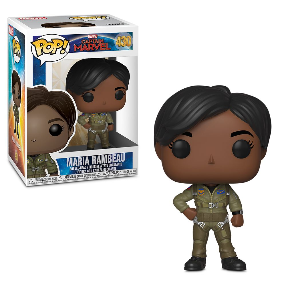 Maria Rambeau Pop! Vinyl Bobble-Head Figure by Funko – Marvel's Captain Marvel