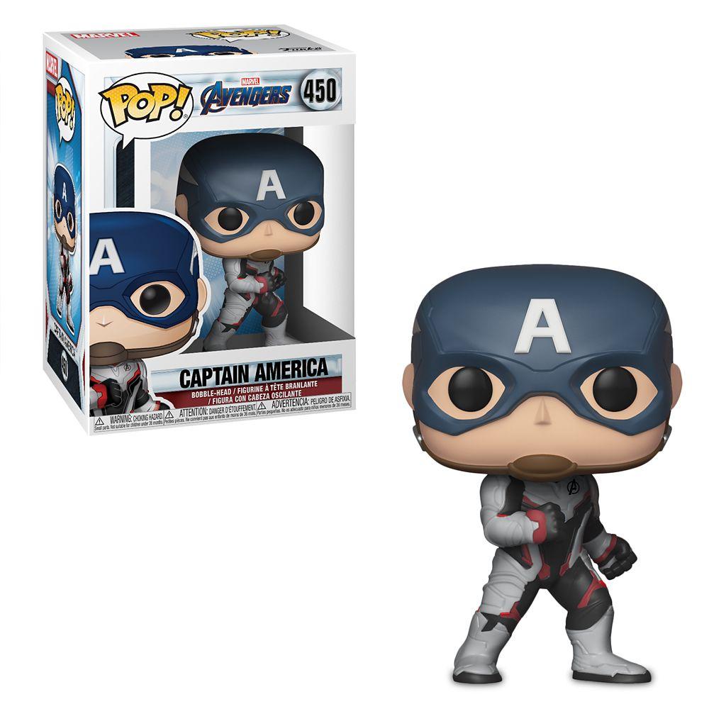 Captain America Pop! Vinyl Bobble-Head Figure by Funko – Marvel's Avengers: Endgame
