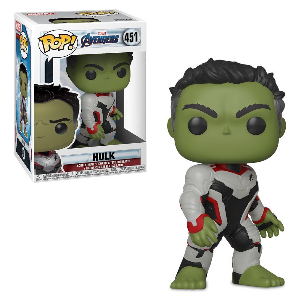 Hulk Pop! Vinyl Bobble-Head Figure by Funko – Marvel's Avengers: Endgame