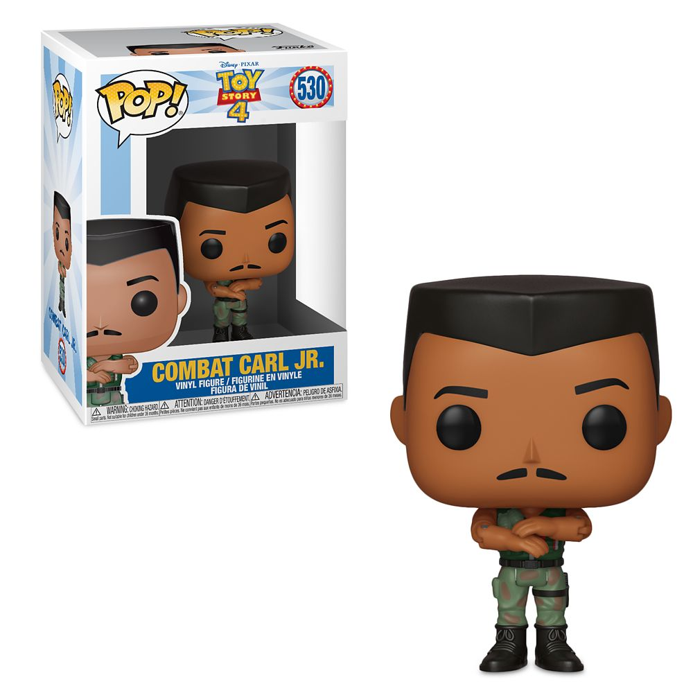 Combat Carl Jr. Pop! Vinyl Figure by Funko – Toy Story 4