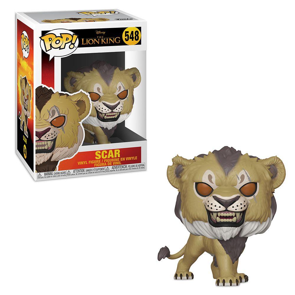Scar Pop! Vinyl Figure by Funko – The Lion King 2019 Film