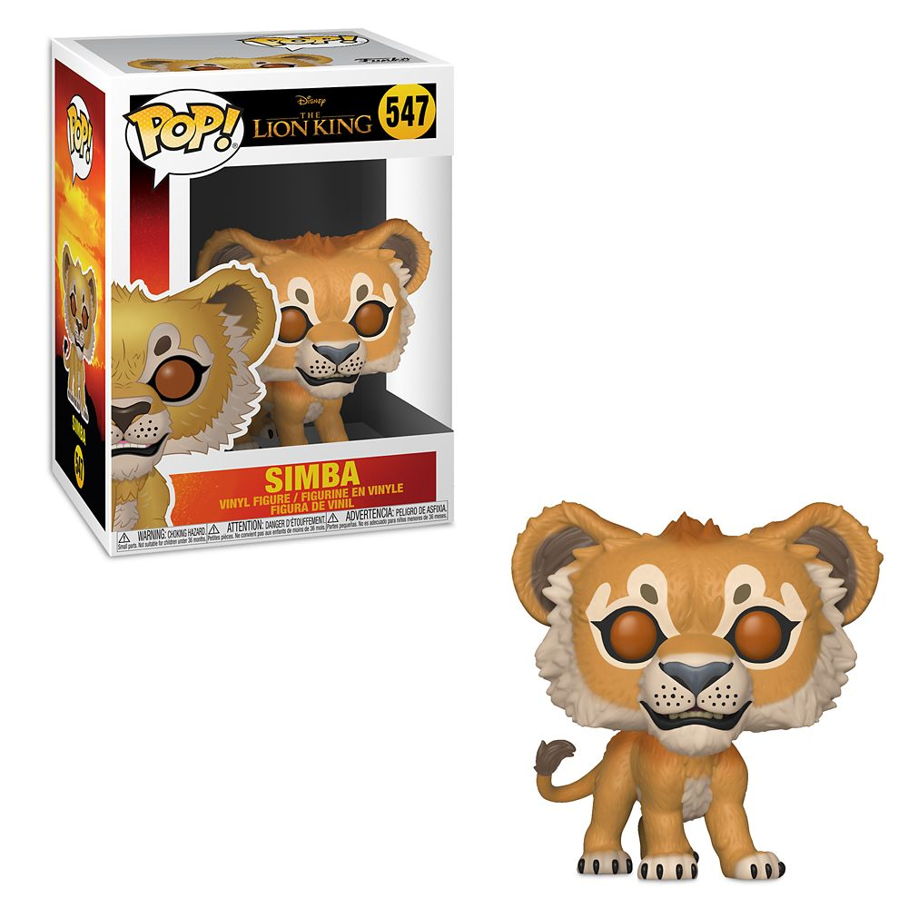 Simba Pop! Vinyl Figure by Funko – The Lion King 2019 Film