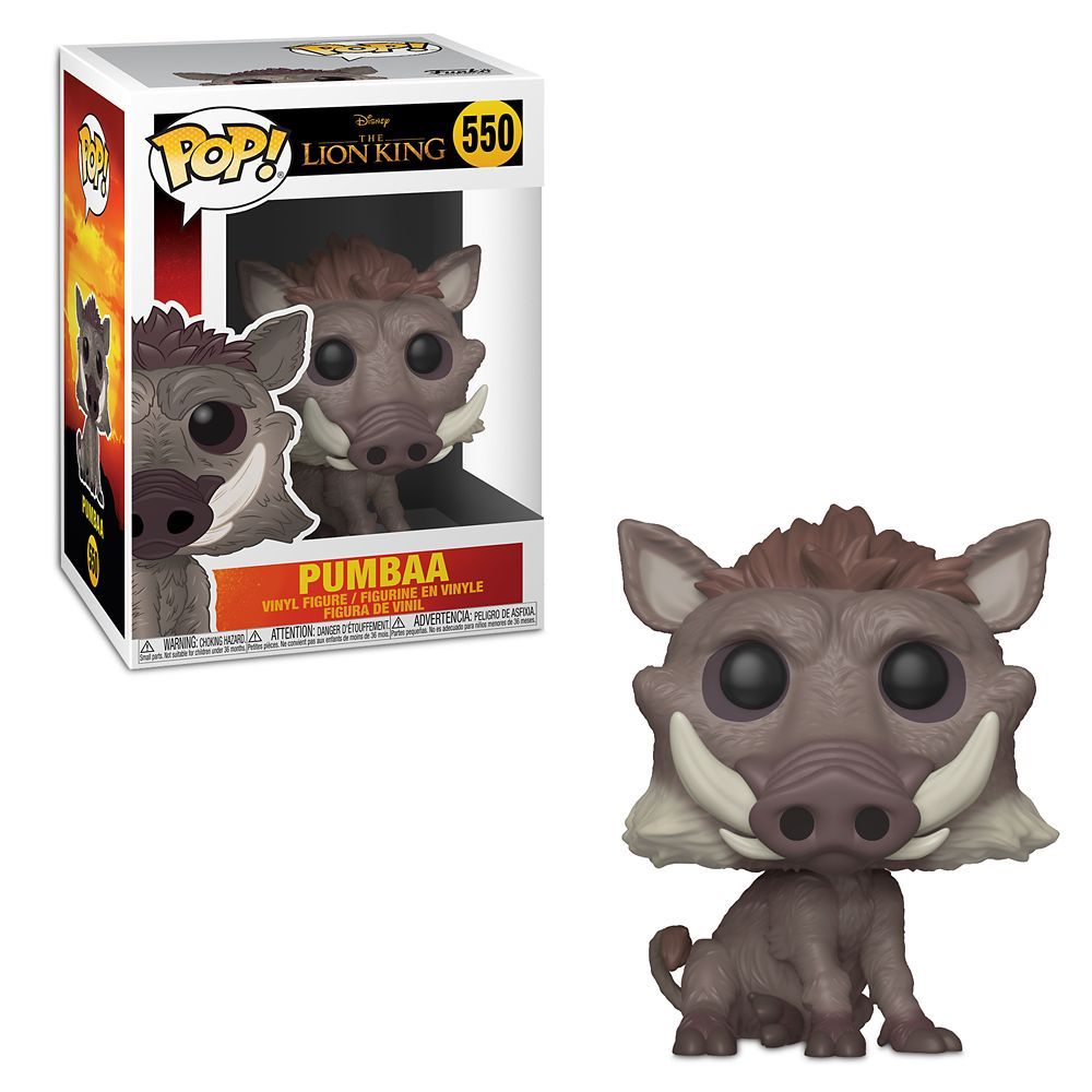 Pumbaa Pop! Vinyl Figure by Funko – The Lion King 2019 Film