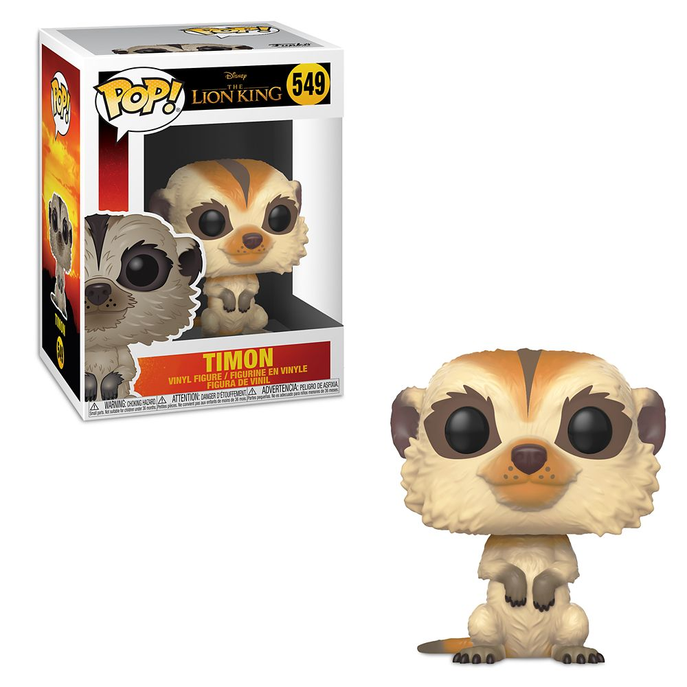 Timon Pop! Vinyl Figure by Funko – The Lion King 2019 Film