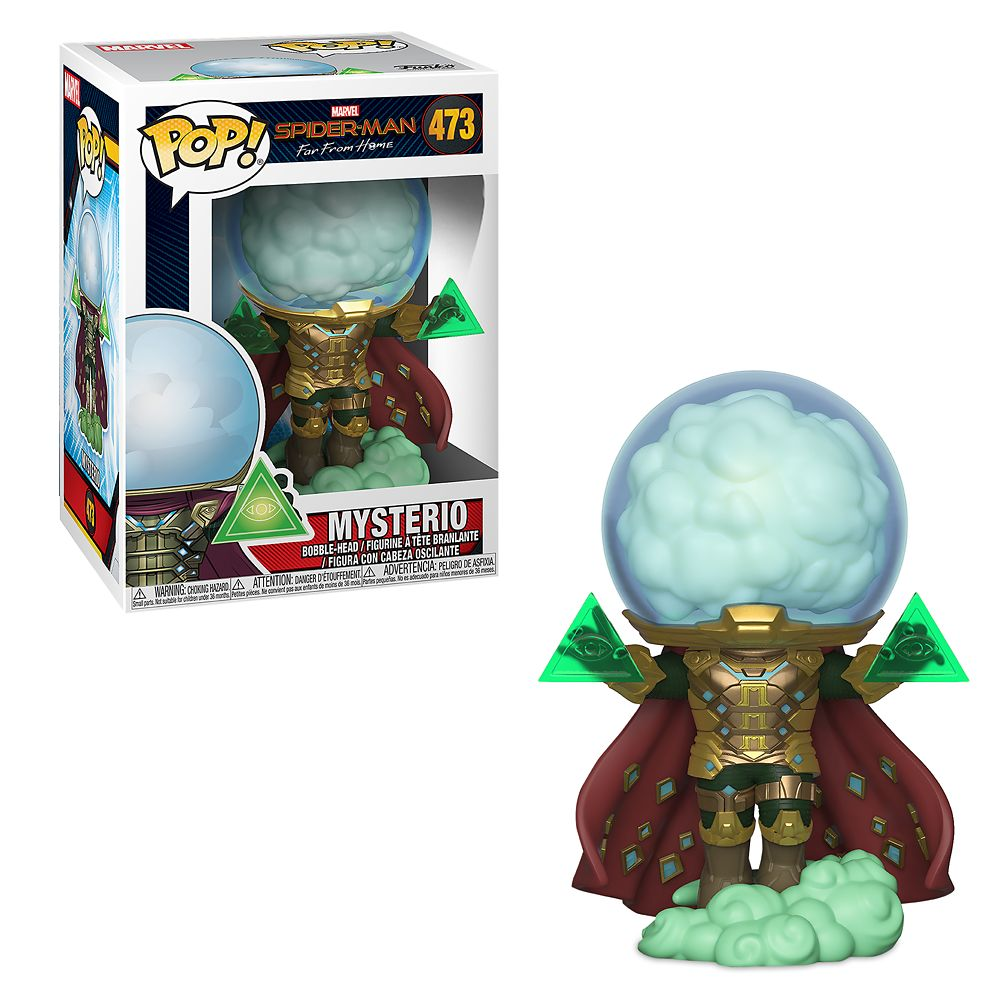 Mysterio Pop! Vinyl Figure by Funko – Spider-Man: Far from Home