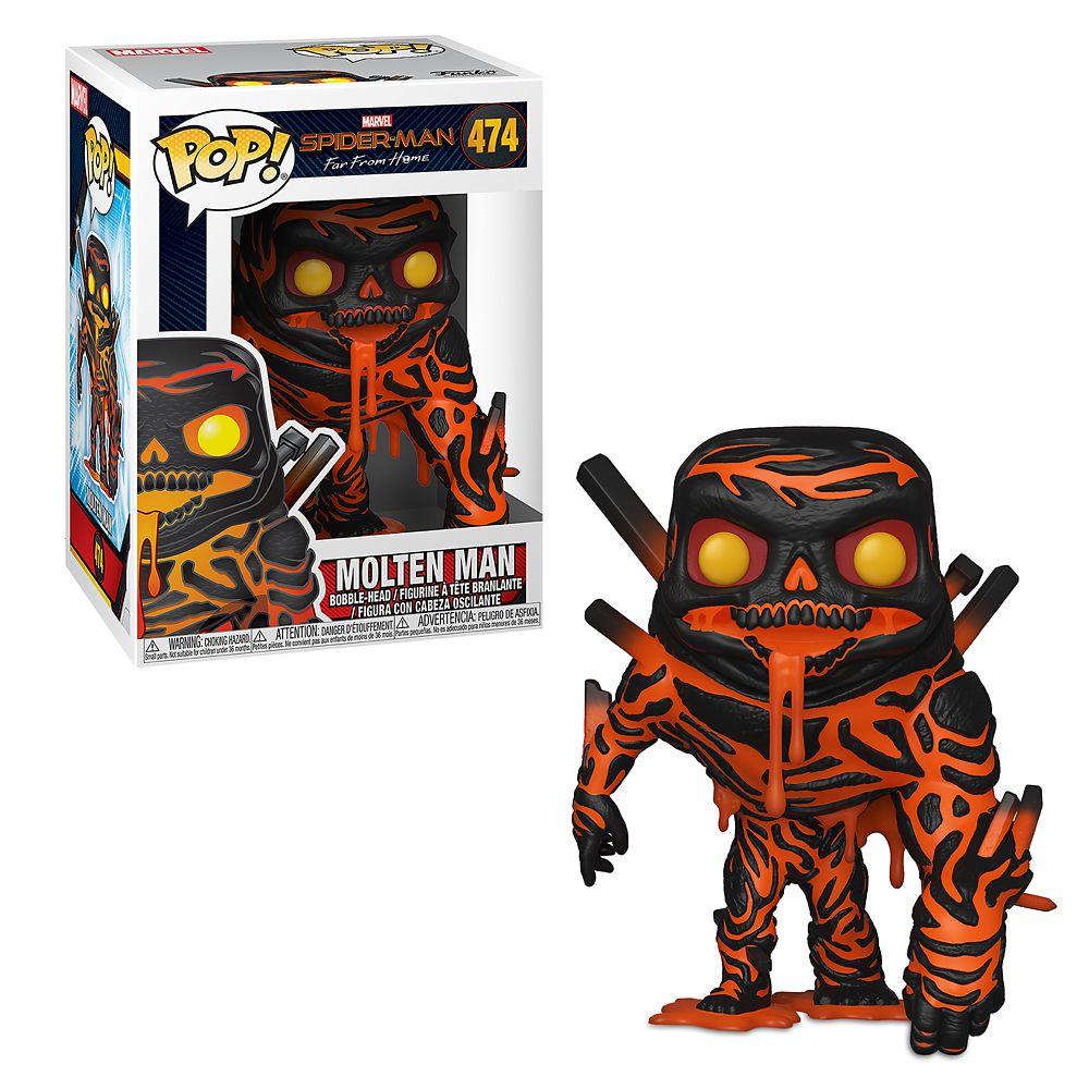 Molten Man Pop! Vinyl Figure by Funko – Spider-Man: Far from Home