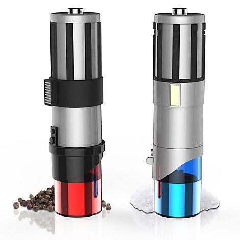 Star Wars Lightsaber Salt & Pepper Mill Set