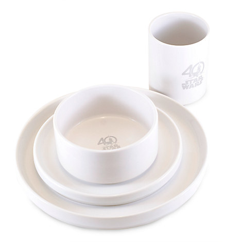 Star Wars Limited Edition Collectible Ceramic Dinnerware Set