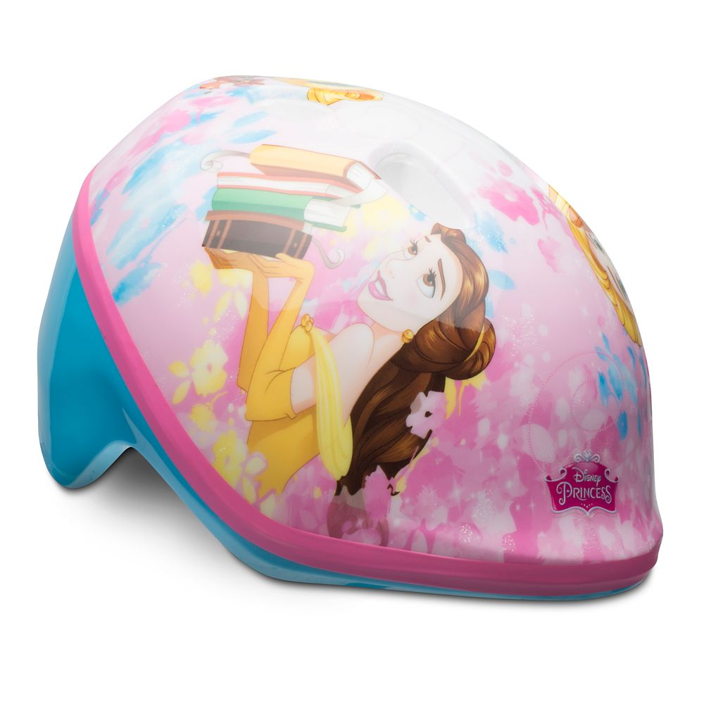 Belle and Rapunzel Bike Helmet for Toddlers
