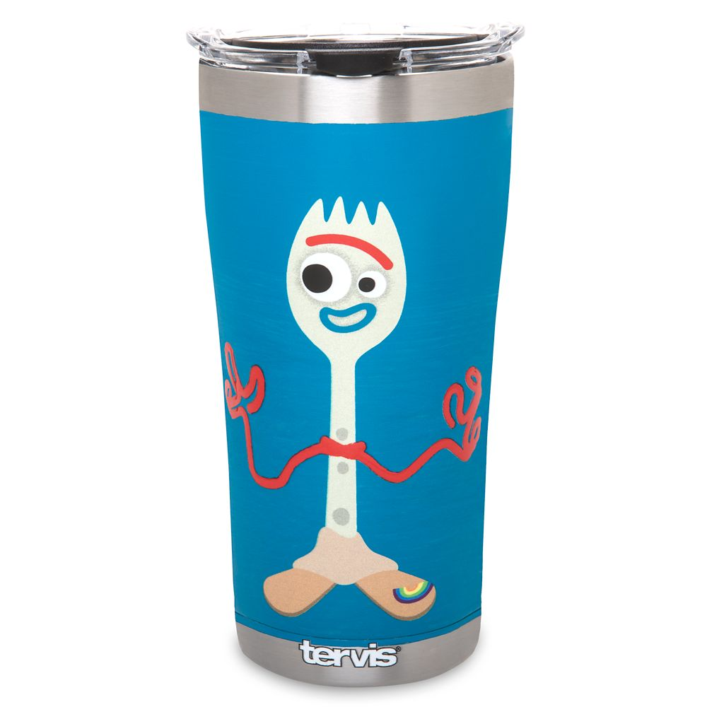 D23 Member – Knifey and Forky Stainless Steel Tumbler by Tervis – Toy Story 4 – Blue