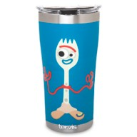 Forky and Karen Beverly Stainless Steel Tumbler by Tervis – Toy Story 4 – Blue