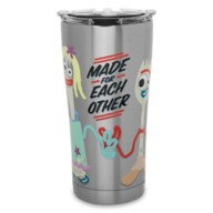 Forky and Karen Beverly Stainless Steel Tumbler by Tervis – Toy Story 4