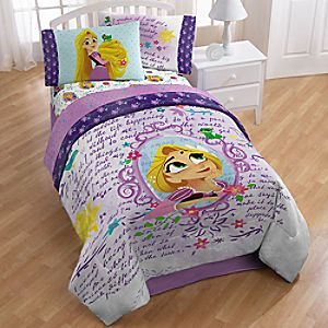 Rapunzel Comforter - Tangled: The Series -  Twin