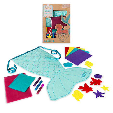 The Little Mermaid Design Your Own Mermaid Tail Craft Set by Seedling