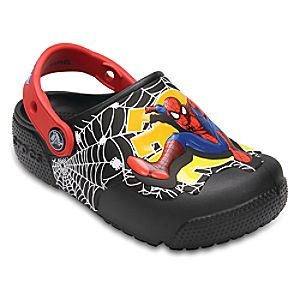 Spider-Man Crocs™ Light-Up Clogs for Boys 3227045570493M