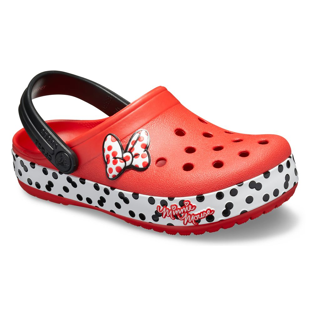 Minnie Mouse Crocband Clogs for Kids by Crocs
