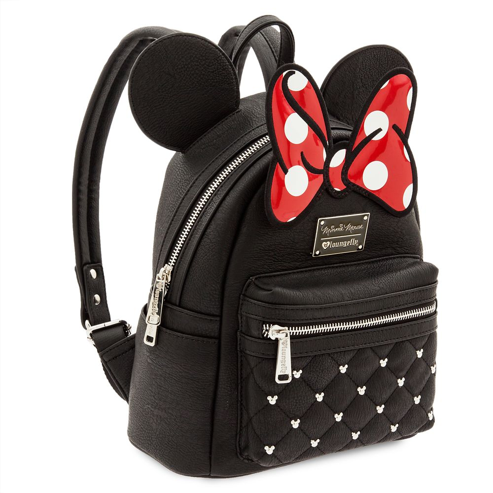 13e8958669e9 Minnie Mouse Icon Mini Backpack by Loungefly