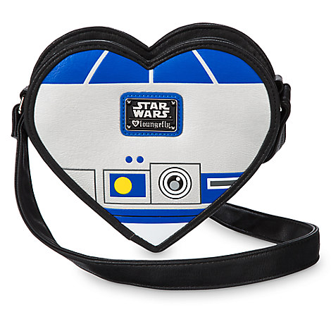 R2-D2 Heart-Shaped Crossbody Bag by Loungefly - Star Wars