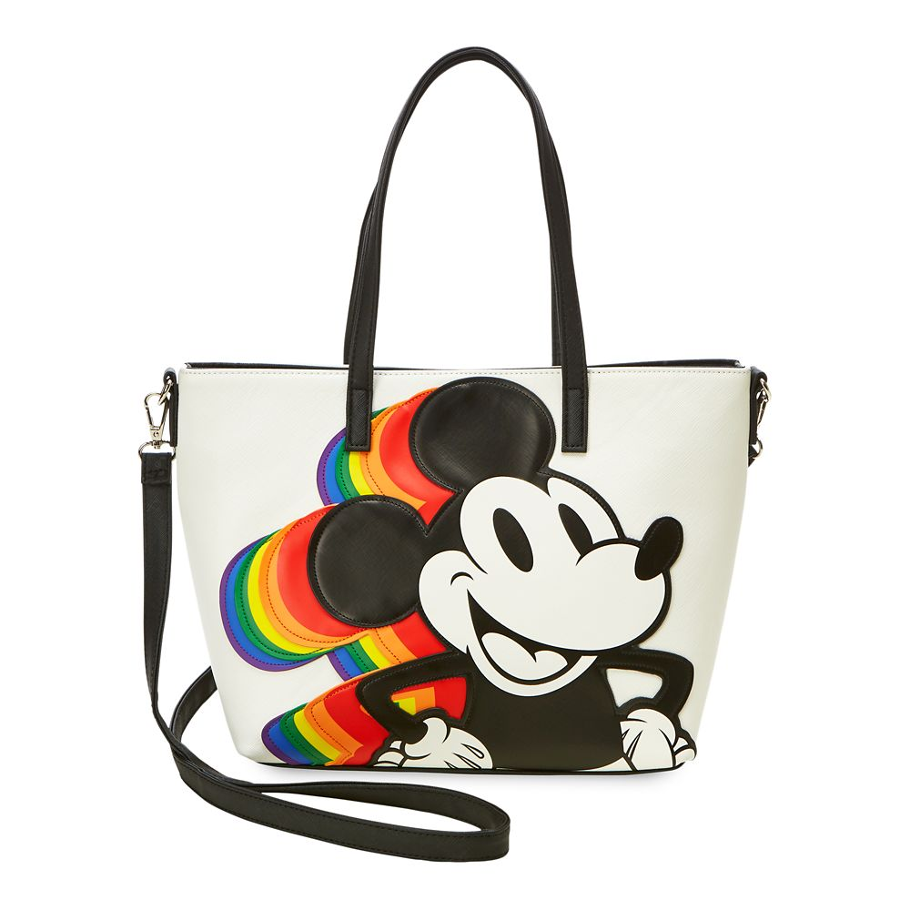 Mickey Mouse Rainbow Tote by Loungefly Official shopDisney