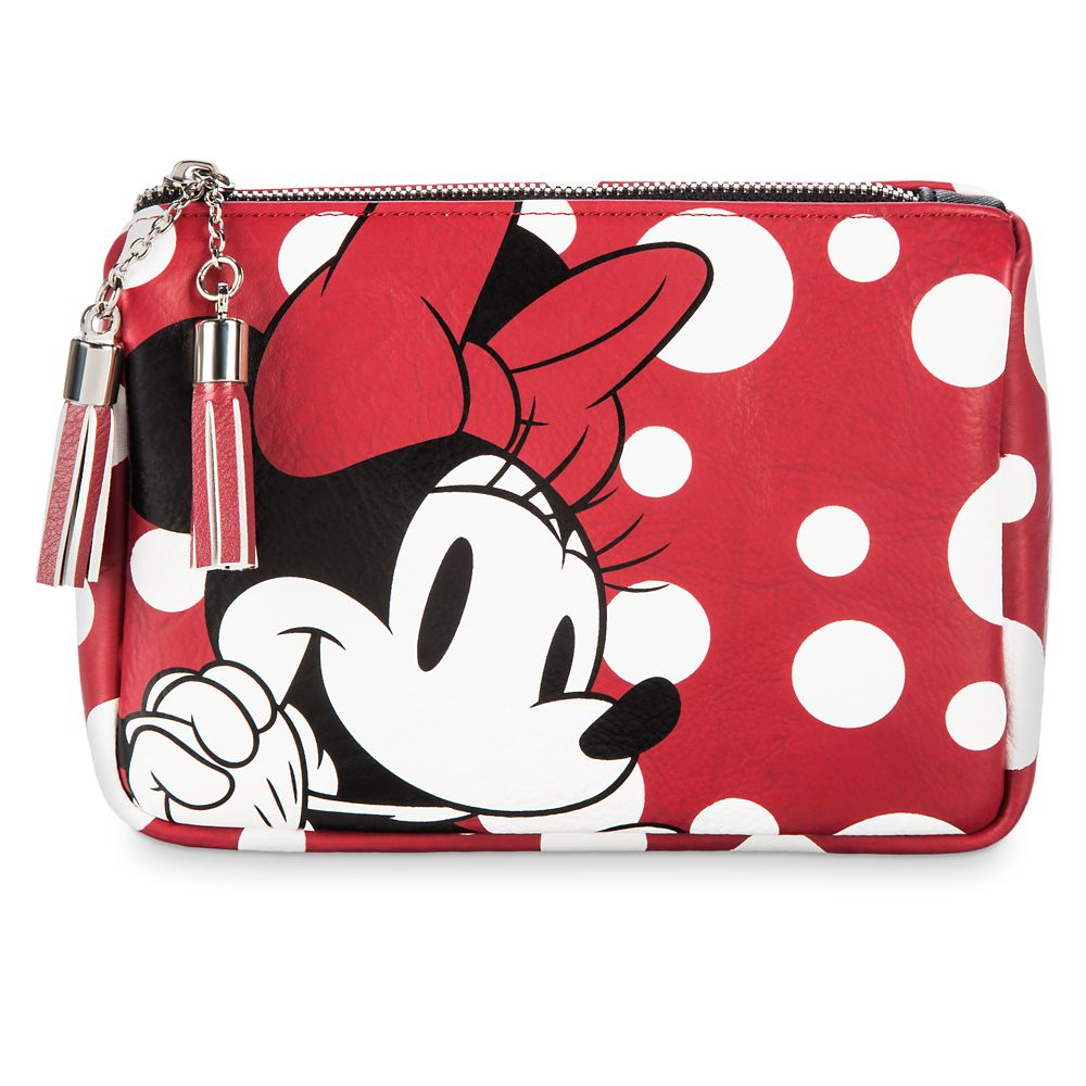 Minnie Mouse Cosmetic Bag Set by Loungefly