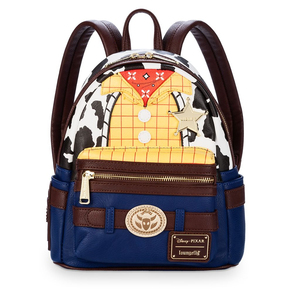Woody Mini Backpack by Loungefly – Toy Story 4
