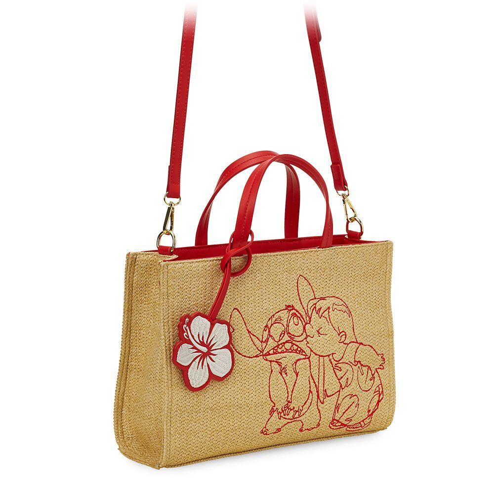 Lilo & Stitch Straw Tote Bag by Danielle Nicole