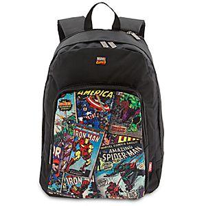 Disney Store Marvel Comics Expandable Backpack  -  Extra Large