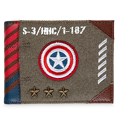 Captain America Wallet - Captain America: Civil War