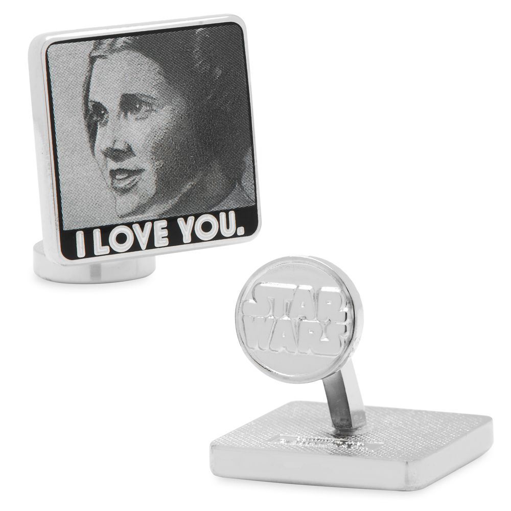 Princess Leia and Han Solo Cufflinks