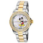 Mickey Mouse Watch for Women by INVICTA - Steel/Gold - Limited Edition