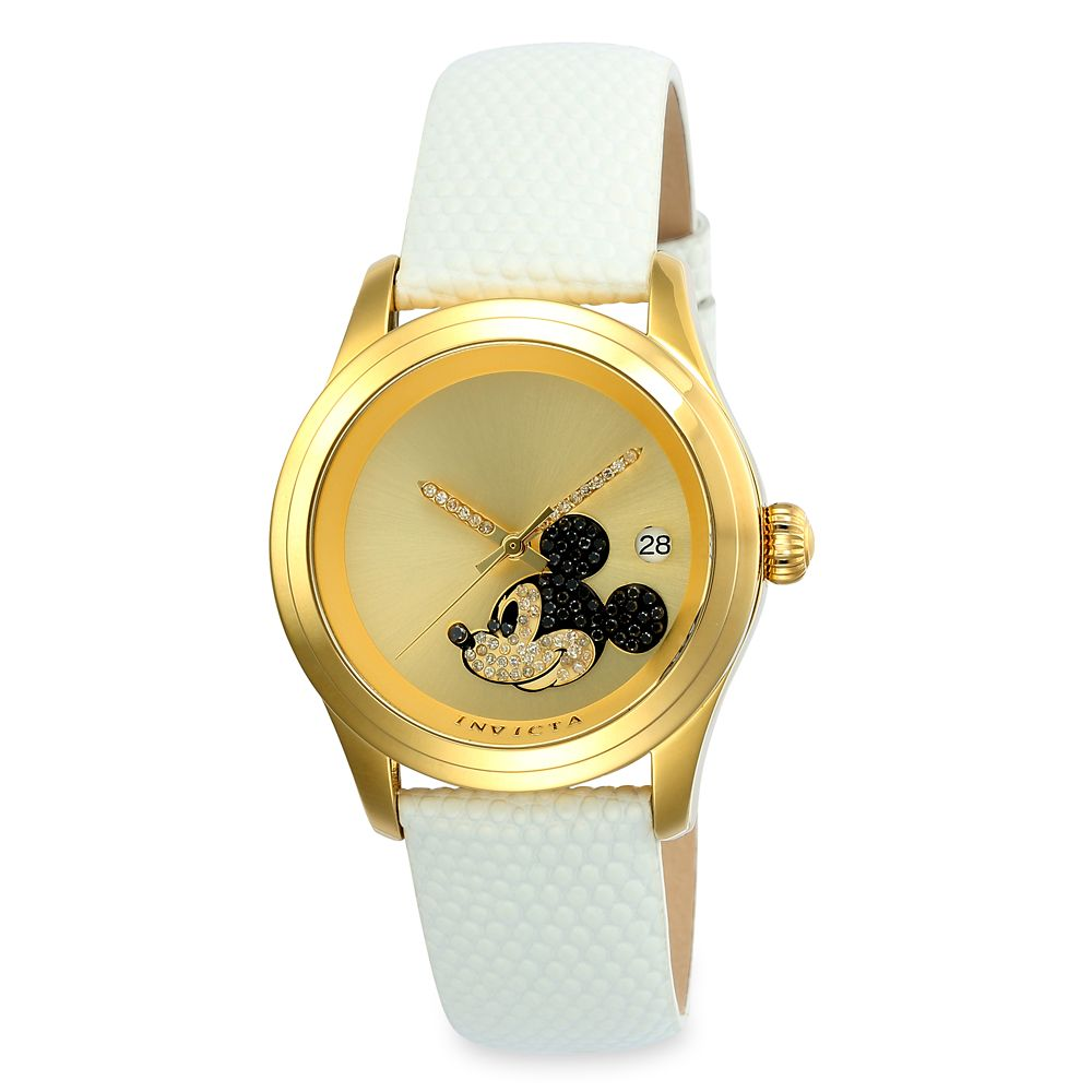 Mickey Mouse Jeweled Watch for Women by INVICTA – Limited Edition