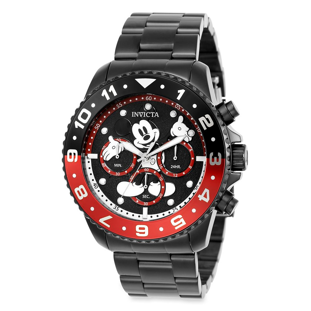 Mickey Mouse Chronograph for Men by INVICTA – Limited Edition