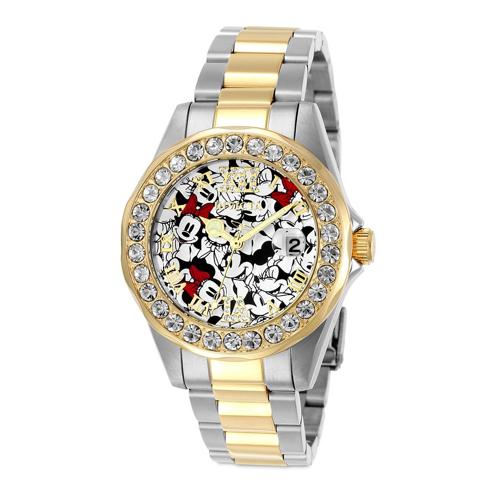 Minnie Mouse Two-Tone Watch for Women by INVICTA