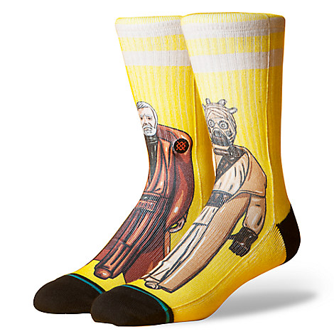Obi-Wan Kenobi and Tusken Raider Socks for Adults by Stance