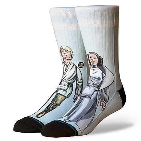 Luke Skywalker and Princess Leia Socks by Stance - Star Wars