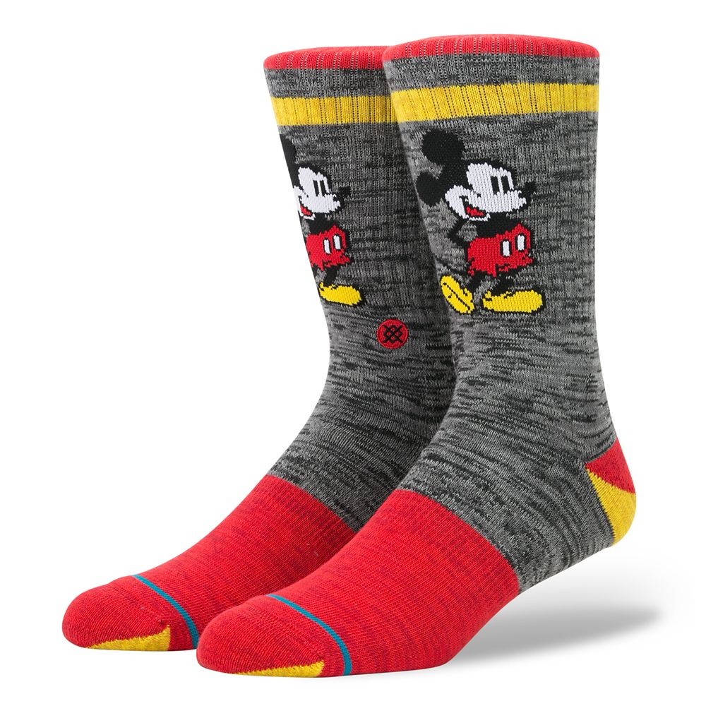 Mickey Mouse Socks for Adults by Stance