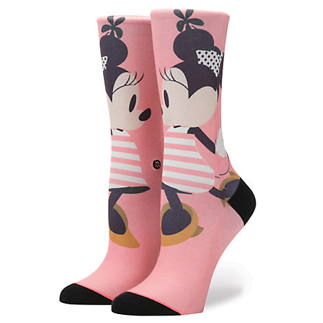 Minnie Mouse ''Sassy Minnie'' Socks for Women by Stance