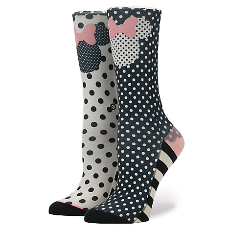 Minnie Mouse Icon ''Sprinkled Minnie'' Socks for Women by Stance