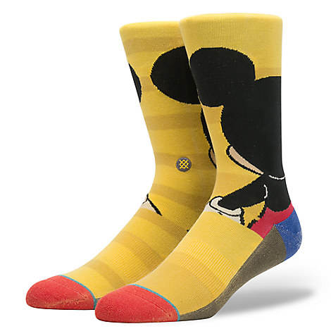 Mickey Mouse Socks for Men by Stance