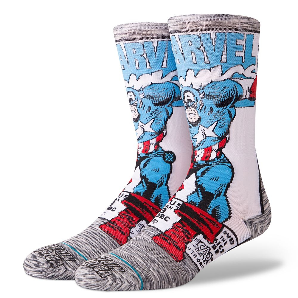 Captain America Socks for Adults by Stance Official shopDisney