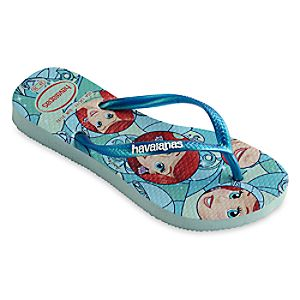 Ariel Flip Flops for Kids by Havaianas