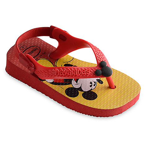 Mickey Mouse Flip Flops for Baby by Havaianas