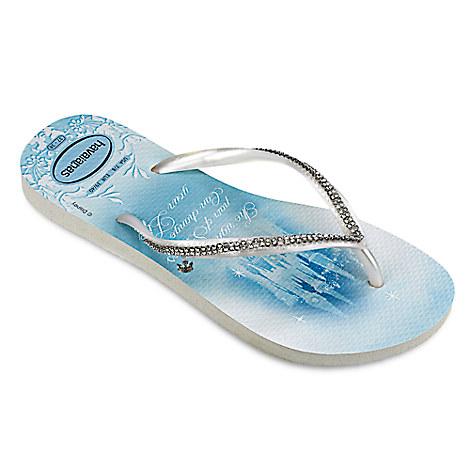 Cinderella Bridal Flip Flops for Women by Havaianas